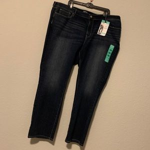 Levi's | curvy straight jeans NWT size 28M